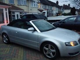 Audi A4 convertible 2003 - £2975 OVNO