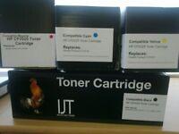 4 Laser Toner CC530A, CC531A, CC532A, CC533A