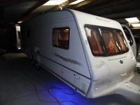 2004 Bailey Senator Montana 21ft 5 berth twin axle.Excellent