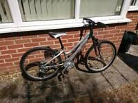 "Ridgeback destiny 24"" wheels mountain bike"