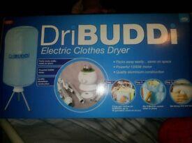 Portable Jml dri buddi clothes dryer In working order