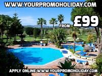 Promotional Holidays in Malta & Tenerife from £99 7 nights 4 or 5 star accommodation 2017 BOOKINGS