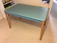 Shabby chic wooden table