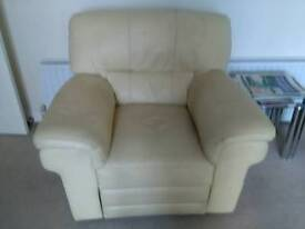 Leather 2x2 settee's.
