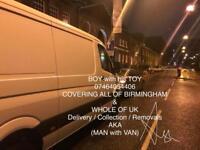 MAN with VAN / 07464054406 / Birmingham