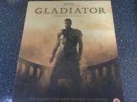 Gladiator - As New Limited Edition Box Set - VHS video/Music CD/Gloss Full Colour Book
