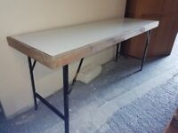 Folding tables for boot sales, markets, banquets etc very sturdy and strong. 15 available