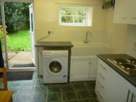Self-contained, furnished one bedroom flat - 4 miles Hereford city centre - available immediately