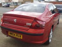 £999 Peugeot 407 SPORT 1997CC HDI SE 5dr RED - Excellent condition ready to go