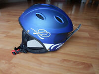 Blue childrens skiing helmet to fit age 10 - 15