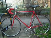 Motobecane Nomade French 10speed Road Bike Lrg 60cm Hitensile Steel Frame Fast Maillard Alloy Wheels