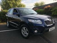 Hyundai Santa Fe 2.2 crdi Diesel Auto 2010 10 REG 5 seater FSH AUTOMATIC ANY TRIAL INSPECTION