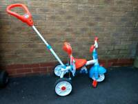 Little Tikes 3 in 1 learn how to peddle trike