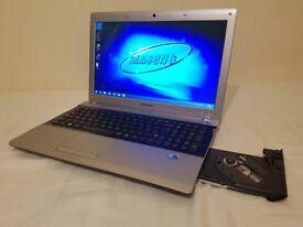 Laptop SAMSUNG 15.6 inch screen - Intel i3 - 4GB RAM - 500GB Hard Drive - £120