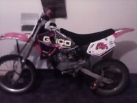 2001 big wheel cr80 bord out to 105cc