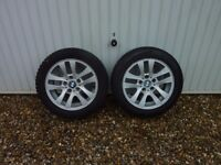 BMW 3 Series E90/91 16 ins Alloy Wheels and Tyres