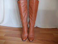 Tan Leather River Island Boots