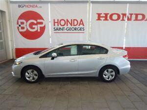 2014 Honda Civic LX AILERON+DEMARREUR+GARANTIE PRLONGÉE+HITCH