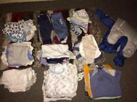Huge baby boy clothes bundle 0-3 months