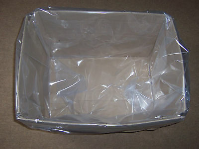 Dust extractor heavy duty rectangular square plastic collection bags 50