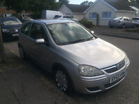 Vauxhall Corsa Design 1.2 16V 2003 BRAND NEW 12 MONTH MOT LOW MILLEAGE only 51,000 miles