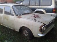 MK 2 FORD CORTINA 1300 DELUX ESTATE 1969 *RESTORATION PROJECT* NEED GONE