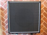 1 x 12 Cab + 'Hot Covers' cover. Eminence Red Fang Alnico Loaded 8 Ohm # 2