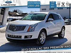 2013 Cadillac SRX **PREMIUM COLLECTION*AWD*CUIR*TOIT*NAVI*CAMERA
