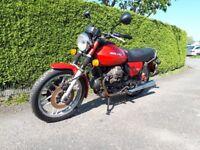 Moto Guzzi v50 mk2 project