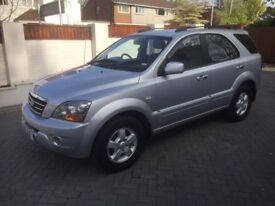 KIA SORENTO XS 2.5 D F/LIFT MODEL ** FSH 10 STAMPS, NEW MOT** 88K MILES, LEATHER, EX COND £3295