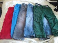 Toddler bundle of jeans x5