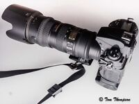 Nikon D700 and lens for sale. Can sell as complete kit or as individual items.