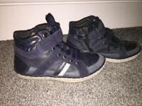 Boys size 13 Geox shoes.