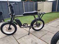Electric bike retro fat bike 20 inch