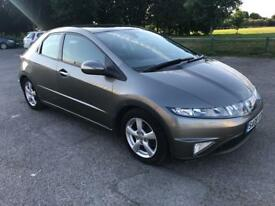 HONDA CIVIC 2008 1.8 i-VTEC ES i-SHIFT 5dr, AUTOMATIC, NEW MOT, NEW SERVICE