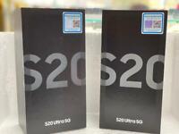 Samsung galaxy S20 Ultra 5G brand new box warranty
