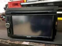 Sony xav-601bt double din headunit stereo car cd player