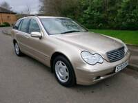 2003 MERCEDES C200 1.8 KOMP. ELEGANCE AUTO ESTATE * LOW MILEAGE *