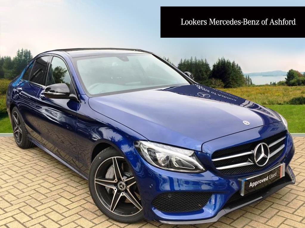 mercedes benz c class c 250 d amg line premium blue 2017 09 19 in ashford kent gumtree. Black Bedroom Furniture Sets. Home Design Ideas