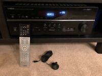 Yamaha RX-V677 surround sound amp, 7.2, hdmi, 4K, home cinema