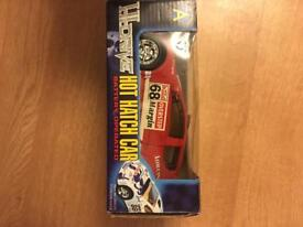 Hot Hatch battery operated, Red Peugeot 206, brand new in box, collection only