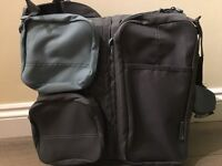 Delta baby nursery bag & carry cot