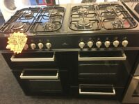 NEWWORLD 100CM DUAL FUEL RANGE STYLE COOKER