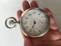 Waltham PS Bartlett Pocket Watch Year 1898