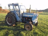 1974 ford 3000 with duncan cab