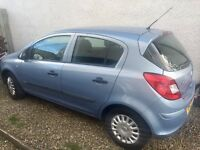 Vauxhall Corsa 1.2 Life AC 5 door 07 spares or repair