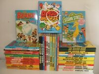 Collection 40 annuals, 1978 - 1986