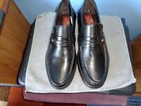 Clifford James Leather Mans Shoes Size 8
