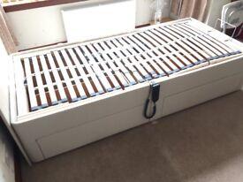 Salus electric single adjustable bed