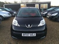 PEUGEOT 107 1.0 12v URBAN MOVE HATCHBACK 3DR 2007*IDEAL FIRST CAR*CHEAP INSURANCE*ONLY £20 ROAD TAX